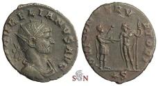 Ancient Coins - Aurelianus Antoninianus - IOVI CONSERVATORI - RIC 277