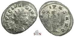 Ancient Coins - Claudius II Gothicus Antoninianus - FELICITAS AVG - RIC 32