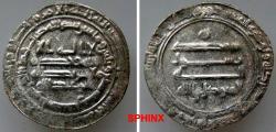 Ancient Coins - 473RM7X) 'ABBASID CALIPHATE, Second Period, AL MUTAWAKKIL 'ALA ALLAH , 232-247 AH / 847-861 AD, (Abu'l Fadl Ja'afar, b. Al-Mu'tasim), AR dirham struck at ISBAHAN in the year 237 AH