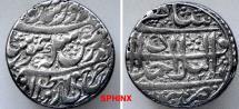 World Coins - 942EE7X) SCARCE.DURRANI, SHAH ZAMAN, 1207-1216 AH / 1793-1801 AD, AR RUPEE, 11.47 grms, 25 mm, struck at AHMADSHAHI with an additional couplet on the reverse,ALBUM  A-3108A, superb