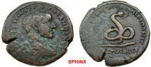 Ancient Coins - 715HM3) MOESIA INFERIOR, Nicopolis ad Istrum. Gordian III. AD 238-244. Æ 5 assaria (27 mm, 12.03 g, 12h). VF