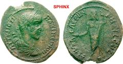 Ancient Coins - 55AK8FM) CILICIA Philadelphia Maximinus I AD 235-238. Bronze (AE; 25-29mm; 6.38g; 6h) ΑΥΤ Κ ΓΙ ΟΥΗ – ΜΑΞΙΜΕΙΝΟΝ Laureate, draped and cuirassed bust of Maximinus to right.