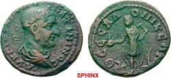 Ancient Coins - 30AK8FM) MACEDONIA Thessalonica Maximinus I AD 235-238. Bronze (AE; 24-26mm; 7.90g; 7h) AV K T ΓIO[V OVH] MAΞIMINOC Laureate, cuirassed and draped bust of Maximinus to right. Rev.