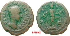 Ancient Coins - 18AK8FM) THRACE Deultum Maximus AD 235/6-238. Bronze (AE; 19-20mm; 3.77g; 1h) C IVL VER MAXIMVS CE Bare head of Maximus to right.   VERY RARE
