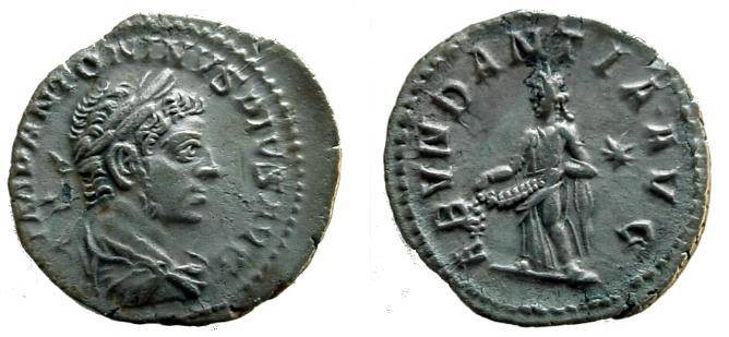 Ancient Coins - 1217HB) ELAGABALUS, 218-222 AD, AR DENARIUS, ROME, 18.5 MM, 2.93 GRAMS, RSC-1, RIC 56, IN VF CONDITION. TONED.