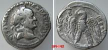 Ancient Coins - 930LR7X) Seleucis and Pieria. Antioch. Vespasian. 69-79 AD. AR Tetradrachm (27 mm, 14.54 gm). Dated year 2 (69/70 AD). AUTOKRAT KAISA OUESPASIANIOU, laureate head right / VF