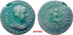 Ancient Coins - 423FFAK19) Extremely rare.***** PISIDIA Antioch Gordian III AD 238-244. Bronze (AE; 33mm; 23.68g; 12h) IMP CAES M ANT GORDIANVS A/VG Laureate, drapedو cuirassed bust of Gordian