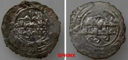 World Coins - 585RM19) FATIMID, AL-HAKIM BI AMR ELLAH, 386-411 AH / 996--1021 AD, AR FULL Dirham, 1.40 grms, 20 mm, Al-Mahdiya, ND, Nicol type M1, typical crude late style; Album 711F, VF