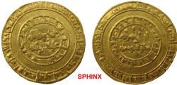 World Coins - 830EHH19) Fatimid, al-Hakim (996-1021), gold Dinar, 4.21g, Misr, AH 389 (Nicol 1075), aVF.  EGYPT, FATIMID, AL-HAKEM BI AMR ELLAH, 386-411 AH/996-1021 AD,  VF