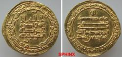 World Coins - 499RHR19) EGYPT, THE TULUNIDS, KHUMARAWAYH IBN AHMAD, 270-282 AH/884-896 AD, AV GOLD DINAR, MINTED IN MISR (PRESENT DAY CAIRO   EGYPT) IN THE YEAR 273 AH ( mint and date perfectly