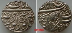World Coins - 632ER19) INDIA, Independent States. Sikh Empire. temp. Ranjit Singh. VS 1858-1896 / AD 1801-1839. AR Rupee (23 mm, 11.11 g, 9h). Amritsar mint. Dated VS 1882 (AD 1825). Herrli Nana