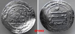 World Coins - 963EC7X) THE ABBASID CALIPHATE, THIRD PERIOD, AL-MUQTADIR, 295-320 AH / 908-932 AD, AR DIRHAM STRUCK AT THE MINT OF MADINAT AL-SALAM ( PRESENT DAY BAGHDAD, IRAQ) IN THE YEAR 312 AH