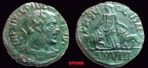 565FL) MOESIA SUPERIOR, Viminacium. Philip II. 247-249 AD. Æ 28.5 mm (17.03 g). Dated Year 8 (246/247 AD). Laureate, draped and cuirassed bust right, seen from behind / Moesia stan