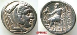 Ancient Coins - 162REB4) KINGS of MACEDON. Alexander III 'the Great'. 336-323 BC. AR Tetradrachm (26 mm, 16.93 g, 3h). 'Amphipolis' mint. Struck under Kassander, Philip IV, or Alexander (son of Ka
