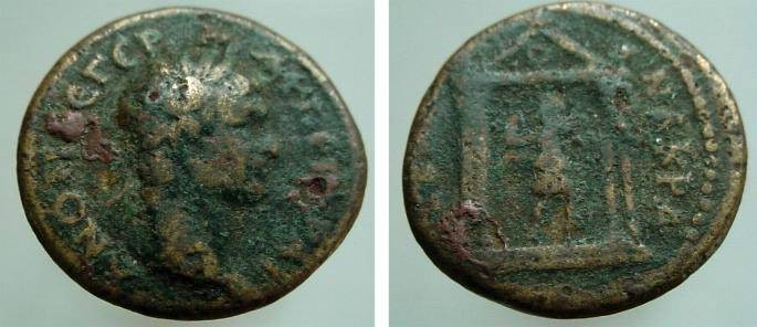 Ancient Coins - 47CK) UNATTRIBUTED ROMAN PROVINCIAL BRONZE, 18 MM, 4.19 GRMS, SOLD AS IS NO RETURN.
