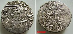 World Coins - 54RC0Z) DURRANI OF AFGHANISTAN, Shah Shuja'a Al-Mulk, 1218-1223 AH / 1803-1808 AD, AR Rupee ( 11.11 grms, 22 mm) Kashmir mint, dated year 1220/ 3, KM # 598,  VF Cond.