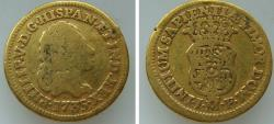 World Coins - 191325-M) SPAIN: AV Escudo, Felipe V, Mint: Madrid, 1735JF