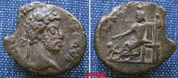 Ancient Coins - 638GE9) ROMAN EGYPT, ALEXANDRIA, COMMODUS, 180-192 AD, AE TETRADRACHM, 23 X 27 MM, 10.93 GRAMS, REV.SARAPIS SEATED LEFT ONHIGH BACKED THRONE, HAND ON SCEPTRE, KERBEROS SEATED BY FE