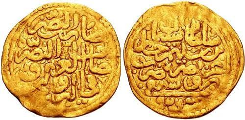 Ancient Coins - ISLAMIC DYNASTIES. Ottomans. Süleyman I. 1520-1566. AV Sultani (22mm, 3.43 gm). Bursa mint. Dated 926 AH (1523 AD).