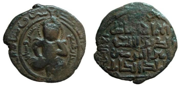 Ancient Coins - 1356RF)  AYYUBIDS OF MAYYAFARIQIN AND SOUTHERN ARMENIA (KHILAT), AL-ASHRAF MUZAFFAR AL-DIN ABUL FATH MUSA IBN AL'ADIL I, RARE TITLE OF ARMENIAN INTEREST
