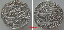 World Coins - 116RE7X) DURRANI, TAIMUR SHAH, 1186-1207 AH / 1772-1793 AD, AR RUPEE, 10.85 grms, 24 mm, struck at KASHMIR dated 1201/ YEAR 13, Type K563, A3100, dotted border in high relief; EF