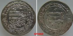World Coins - 618RM0Z) THE ABBASID CALIPHATE, THIRD PERIOD, AL-MUQTADIR, 295-320 AH / 908-932 AD, AR DIRHAM STRUCK AT THE MINT WASIT ( PRESENT DAY IRAQ) IN THE YEAR 311 AH; ALBUM TYPE # 246.2 WI