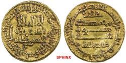 World Coins - 356ELK0Z) AGHLABID: Ziyadat Allah I, 201-223 AH / 816-837 AD, AV dinar (4.23g), NM, AH 202, A-438, al-'Ush-11, bold EF.