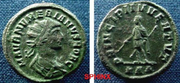Ancient Coins - 105ER0) NUMERIAN. As Caesar, 282-283 AD. Æ Ant GOOD VF