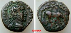 Ancient Coins - 569HM3) TROAS, Alexandria Troas. Gallienus. AD 253-268. Æ 18 mm (4.05 g). Laureate, draped and cuirassed bust right / Horse standing right grazing. SNG COP 206, BMC 174. aVF, brown
