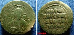 Ancient Coins - 41BM99) Constantine VIII 1025-1028 AD., Class A3 Anonymous AE Follis 33 mm 11.12 grms attributed to the sole reign of Constantine VIII, Obv. +EMMA NOVHA around facing bust of nimba