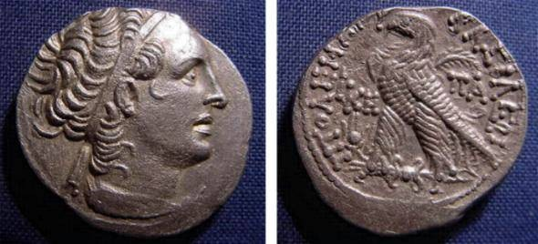 Ancient Coins - PTOLEMAIC KINGS OF EGYPT; PTOLEMY XII AR TETRA SUPERB STYLE