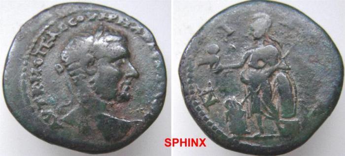 Ancient Coins - 775HM3) BITHYNIA, Nicaea. Macrinus. AD 217-218. AE 28 mm (12.22 g). aVF.