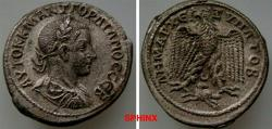 Ancient Coins - 220HK18) Antioch ad Orontem, Syria Seleucis and Pieria, Gordian III (238-244 AD), BI Tetradrachm, 26 mm, 12.38   grms, Obverse: AVTOK K M ANT ΓOPΔIANOC CЄB, Laureate, draped and