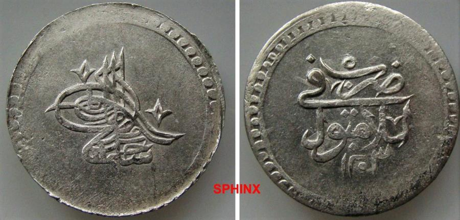 World Coins - 944EF18) OTTOMAN EMPIRE, Sultan Selim III, 1203-1222 AH / 1789-1807 AD, AR 2 Kurush (2 piasters), 42 mm Diameter, 26.35 grms weight, dually dated accession year 1203 and reignal ye