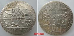 World Coins - 628EG18) OTTOMAN EMPIRE, Sultan Selim III, 1203-1222 AH / 1789-1807 AD, AR 2 Kurush (2 piasters), 43 mm Diameter, 30.959 grms weight, dually dated accession year 1203 and reignal