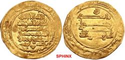 Ancient Coins - 452RLF19)  Persia (Pre-Seljuq). Ziyarids. Mardawij bin Ziyar. AH 315-323 / AD 927-935. AV Dinar (25mm, 3.74 g, 2h). Mah al-Basra (Nahavand) mint. Dated AH 322 (AD 933/4). A