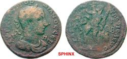 Ancient Coins - 448FFAK19) CILICIA Tarsus Gordian III AD 238-244. Bronze (AE; 31-32mm; 15.12g; 7h) AVT K M ANT ΓOPΔIANOC CEB / Π-Π Laureate, draped and cuirassed bust of Gordian III to right.