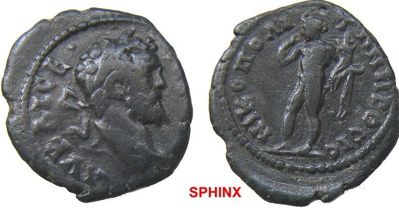 Ancient Coins - 556HM3) Nicopolis Ad Istrum, Moesia Inferior, Septimius Severus. 193-211 AD. Æ 19 x 17 mm, 3.04 grms, Laureate head right / VF