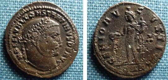 Ancient Coins - 818BM) CONSTANTINE, 307-337 AD, AE FOLLIS, 22  MM, 3.49 GRMS, CYZICUS 313-15 AD, NICE FINE+.