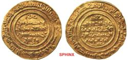 World Coins - 556ELM0Z) Islamic gold dinar of the Fatimid AL-MUSTANSER BELLAH, 427-487 AH/ 1036-1094 AD, Grandson of Al-Hakem Bi 'Amr Ellah. GOLD DINAR, 4.28 GRMS.OF FINE GOLD CONTENT XF