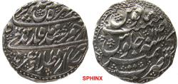 World Coins - 42RC0Z) DURRANI OF AFGHANISTAN, Taimur Shah, 1186-1207 AH / 1772-1793 AD, AR Rupee ( 10.90 grms,23.5 mm) Kashmir mint, dated year 1202 / 14 KM # 563, Superb XF Cond.