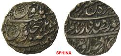 World Coins - 126RE7X) DURRANI, TAIMUR SHAH, 1186-1207 AH / 1772-1793 AD, AR RUPEE, 10.76 grms, 23 mm, struck at PESHAWAR dated 1198 TEAR 12 , type A-3100, in high relief; VF.