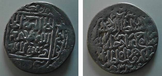 Ancient Coins - 202) Islamic, Timurid, Shah Rukh, 807-850 AH/ 1405-1447 AD, AR Tanka, fifth coinage, with Sunni reverse struck at HERAT in the year 833AH.