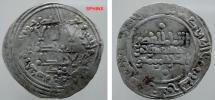 World Coins - 743EE8) UMAYYADS OF SPAIN, ABDELRAHMAN III (AL-NASER LE DIN ALLAH), 300-350 AH/ 912-961 AD, AR DIRHAM, STRUCK AT MADINAT AL-ZAHRA'A, IN 341 AH, ALBUM TYPE 350, BMC vol 3 cif # 78,