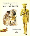 """Ancient Coins - 16BK) WOLFHART WESTENDORF, """" PAINTING, SCULPTURE AND ARCHITECTURE OF ANCIENT EGYPT """" 260 PAGES WITH COLOUR PHOTOS OF BEAUTIFUL ART OBJECTS AND ARCHITECTURE;  USED BUT IN VERY GOOD"""