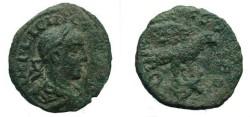 Ancient Coins - 571RR)  ROMAN PROVINCIAL BRONZE, 21.5 MM, 6.29 GRMS, Gallienus AE22, Roman Provincial Alexandria Troas