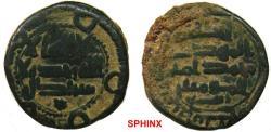 World Coins - 771RG19) 'Abbasid Caliphate. Al-Mahdi. AH 158-169 / AD 775-785. AE Fals (16.5 mm, 2.49 g). Struck at Istakhr dated 167 AH,   citing governor (al-) Rabi' (b. Yunis) on lower reverse