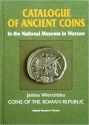 Ancient Coins - 211WARSW) Wiercinska, Janina, Catalogue of Ancient Coins in the National Museum of Warsaw: Coins of the Roman Republic, Published by National Museum, Warsaw, 350 pages and 77 plate