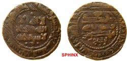 Ancient Coins - 764RM0Z) SAMANID, Mansour I ibn Nuh II, 350-365 AH / 961-976 AD, AE fals, 2.17 grms, 20.5 mm, struck at Bukhara in 357 AH (both sharp clear); Type of Album 1467.1 in VF, cond.