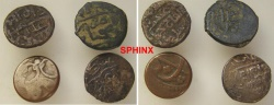 World Coins - 114EC2) STUDY GROUP OF 4 ISLAMIC COINS AT LEAST ONE SILVER.